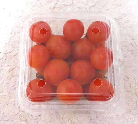パックに入ったミニトマト